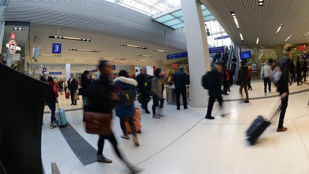 Salzburger Hauptbahnhof feierlich eröffnet (Bild: APA/BARBARA GINDL)