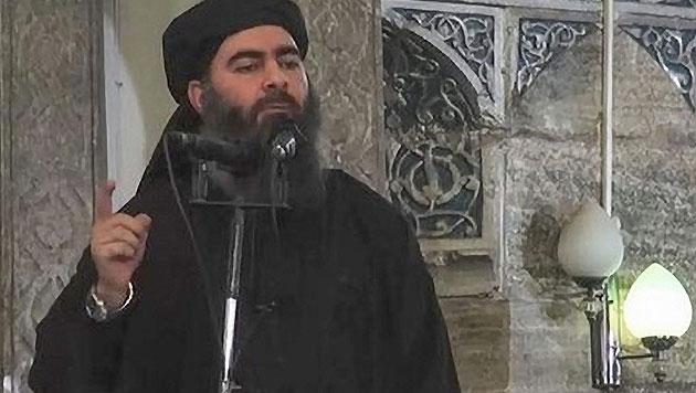 Abu Bakr al-Baghdadi (Bild: Islamic State Video/Handout)