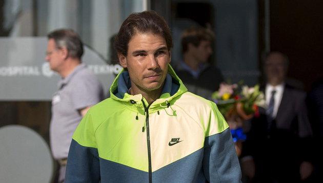 Rafael Nadal - Rätsel um den kranken Superstar! (Bild: APA/EPA/ALEJANDRO GARCÕA)