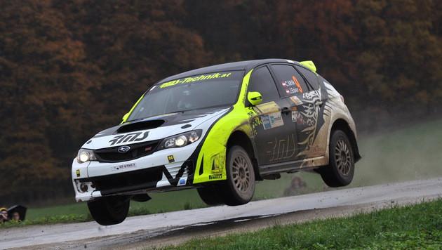 Christian Mrlik gewann die Waldviertel-Rallye 2014. (Bild: Harald Illmer/Sportpressedienst)