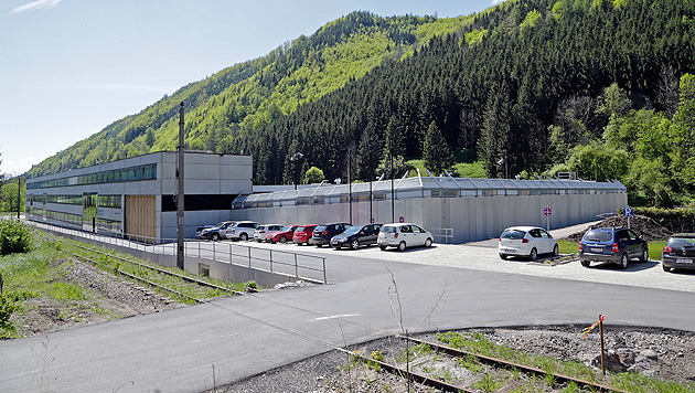 Leeres Schubhaftzentrum: Kosten auf Rekordniveau (Bild: Klemens Groh)