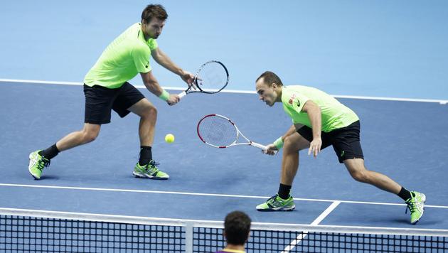 Alex Peya und Bruno Soares starten mit Sieg (Bild: AP/Alastair Grant)