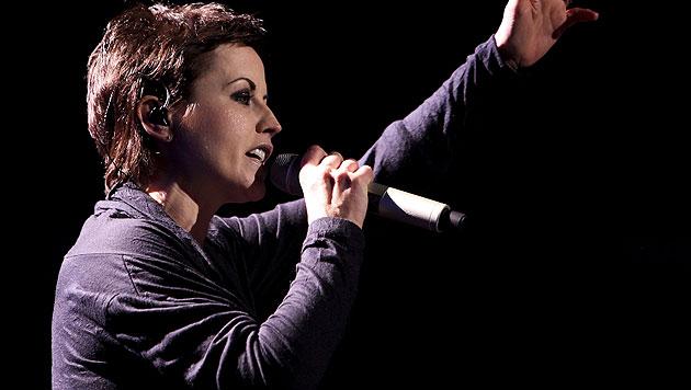 """Cranberries-Sängerin Dolores O""""Riordan bei einem Konzert (Bild: AP)"""