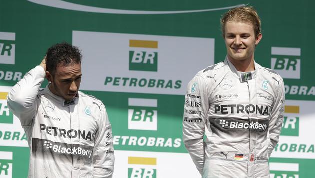 Rosberg braucht jetzt Hilfe vom Intimfeind (Bild: AP)
