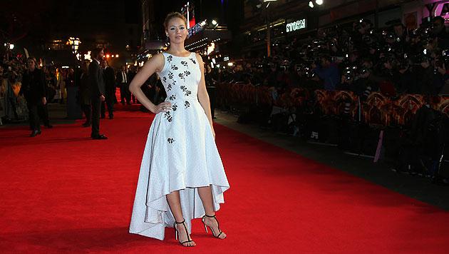 Jennifer Lawrence genießt den Rummel um ihre Person. (Bild: AP, EPA)