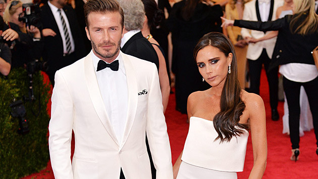 Bei den Genen von David und Victoria Beckham ist das kein Wunder. (Bild: APA/EPA/JUSTIN LANE)
