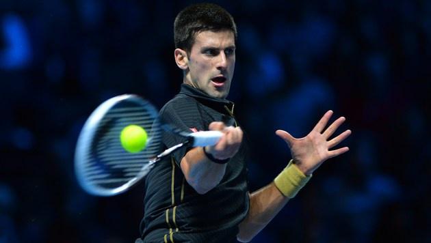 Novak Djokovic lässt Stan Wawrinka keine Chance (Bild: AFP)