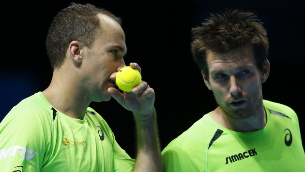 Peya und Soares verlieren zweites Gruppen-Match (Bild: AP/Alastair Grant)
