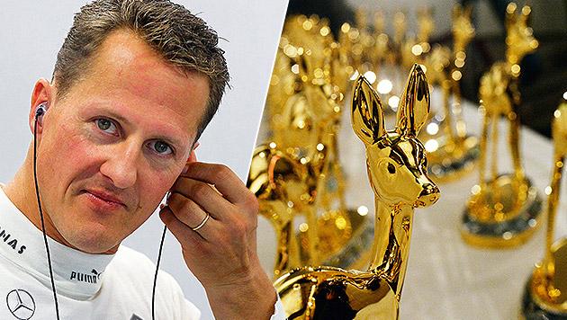 "Michael Schumacher mit ""Millennium""-Bambi geehrt (Bild: APA/dpa, APA/EPA/DIEGO AZUBEL)"