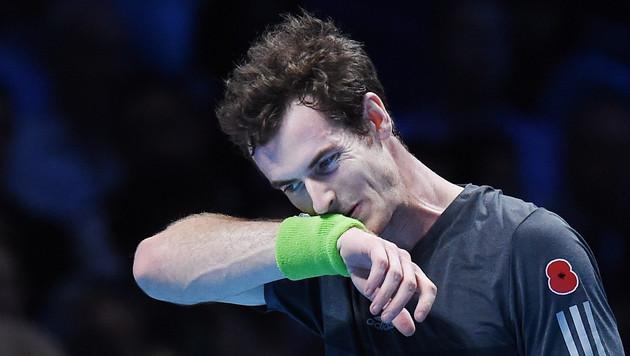Murray vor Heimpublikum von Federer gedemütigt (Bild: APA/EPA/ANDY RAIN)