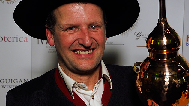 Georg Hiebl, neuer Weltmeister der Edelbrenner (Bild: APA/Destillerie Hiebl)
