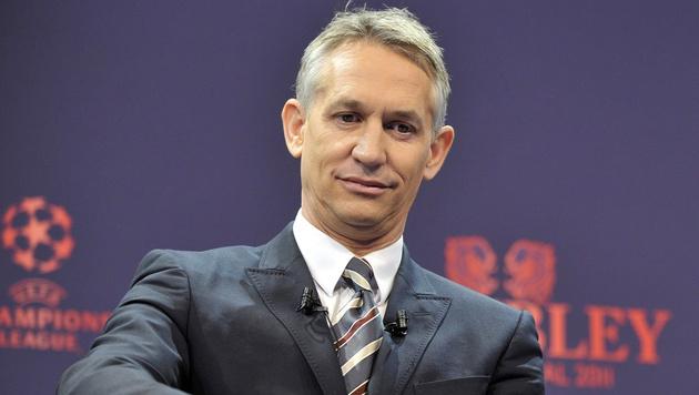 Gary Lineker, der bald in Unterhosen moderieren muss (Bild: MARTIAL TREZZINI / EPA / picturedesk.com)