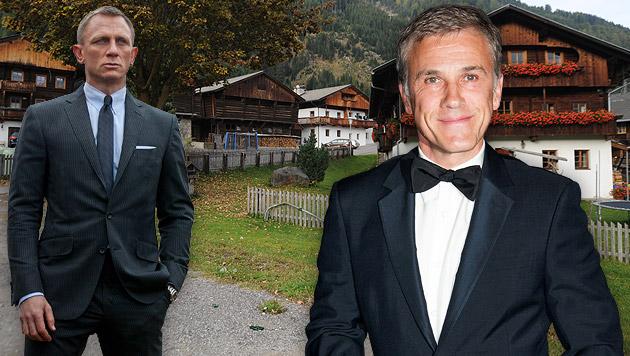 Im Dezember starten die Bond-Dreharbeiten in Osttirol. Mit Christoph Waltz? (Bild: AP, AFP, Martina Holzer)