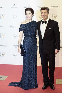 Kronprinzessin Mary und Kronprinz Frederik von Dänemark (Bild: EPA)