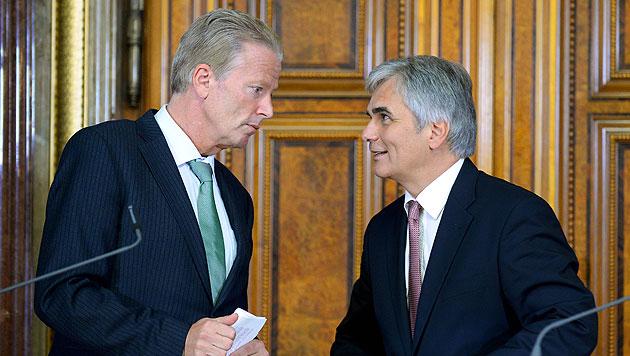 Kanzler setzt ÖVP Frist für die Steuerreform (Bild: APA/ROLAND SCHLAGER)