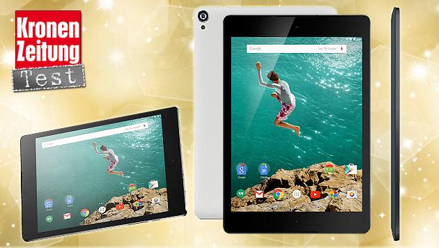 "Nexus 9: Googles ""Lollipop""-Tablet im Test (Bild: HTC Nexus 9)"