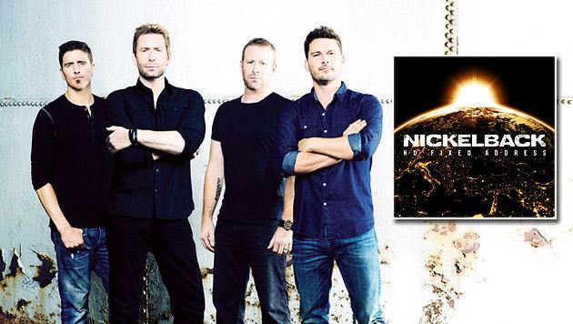 Nickelback gefangen im Arena-Bombastrock-Gehege (Bild: universal music)
