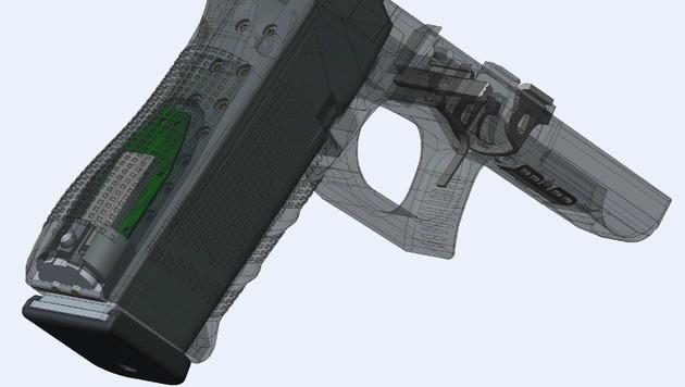 Smarte Waffe: US-Polizei testet vernetzte Pistole (Bild: YardArm)