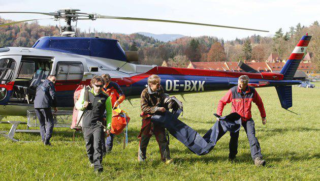 Toter Skifahrer nach 85 Jahren in Höhle gefunden (Bild: MARKUS TSCHEPP)