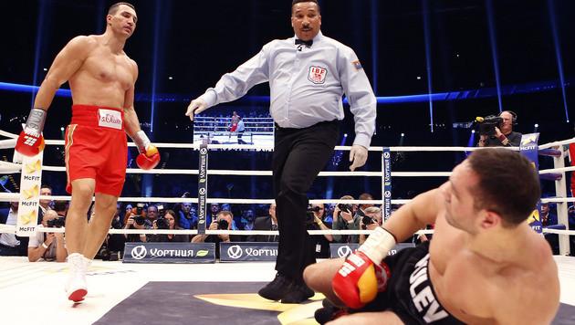 Pulew nach Klitschko-Prügel im Krankenhaus (Bild: AP)