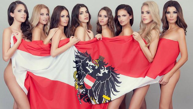 """So schön sind unsere """"Miss Austria""""-Siegerinnen (Bild: Manfred Baumann (manfredbaumann.com))"""