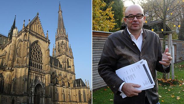 Anwalt Wolfgang List vertritt jenen Linzer, dem das Glockenläuten des Mariendoms den Schlaf raubt. (Bild: Chris Koller)