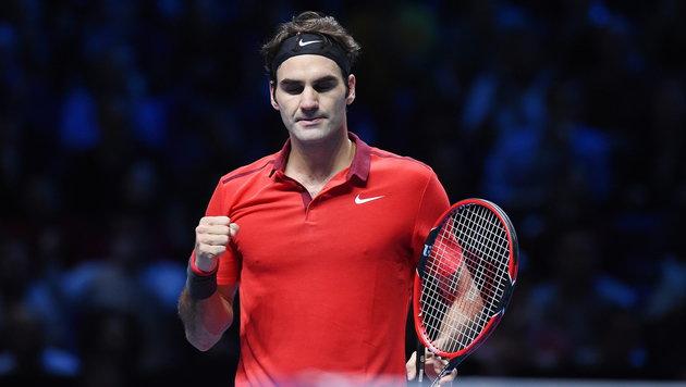 Roger Federer gewinnt Thriller! Traumfinale wartet (Bild: APA/EPA/ANDY RAIN)