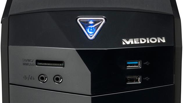 Einsteiger-PC für 400 Euro demnächst bei Hofer (Bild: Medion)