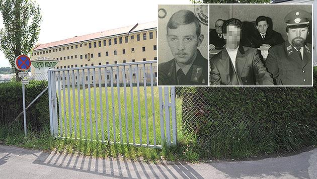 Johann Habres (li.) wurde durch zwei Kopfschüsse getötet. Der Täter ist seit November frei. (Bild: Horst Einöder, Krone)