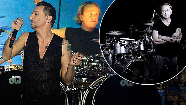 Christian Eigner: Unser Mann bei Depeche Mode (Bild: AP, CE Pictures)