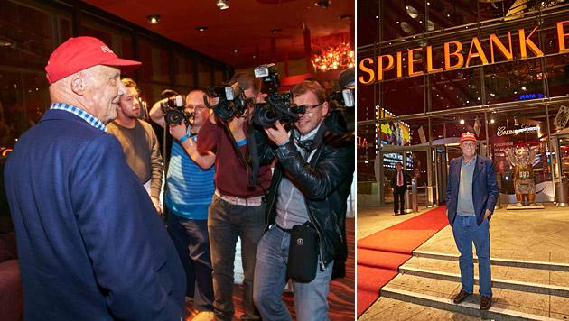 Große Aufregung um Niki Lauda in Berlin (Bild: Alexander Tuma)