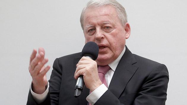 """Vranitzky: """"EU ist ein Europa der Konzerne"""" (Bild: APA/GEORG HOCHMUTH)"""