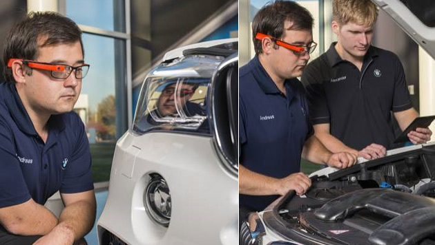 BMW testet Datenbrille Google Glass (Bild: BMW Group)