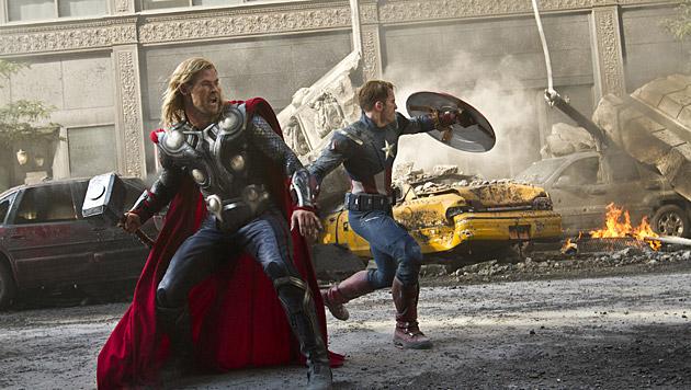 """Als """"Thor"""" stand Chris Hemsworth auch in """"The Avengers"""" vor der Kamera. (Bild: AP)"""