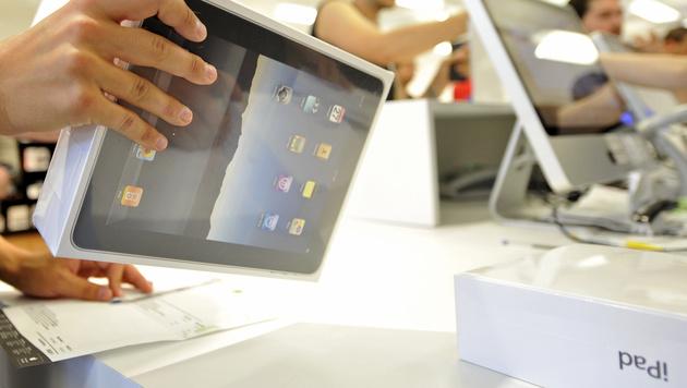 Millionenbetrug mit gefälschten iPad-Verpackungen (Bild: APA/Herbert Neubauer)