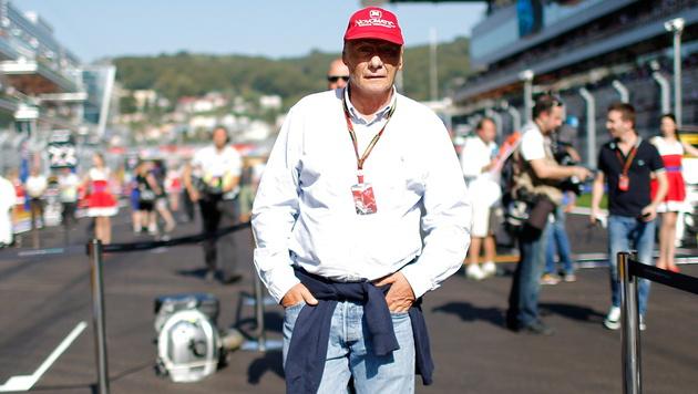 """Niki Lauda: """"Wir lassen Lewis und Nico los"""" (Bild: APA/EPA/VALDRIN XHEMAJ)"""
