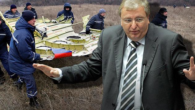 SPÖ-Matznetter bezweifelt Theorie zu MH17-Abschuss (Bild: APA/Roland Schlager, APA/EPA/ALEXANDER ERMOCHENKO)