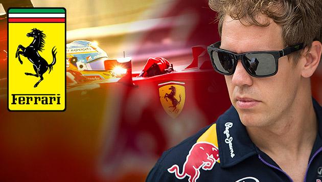 Verwirrung um angeblichen Wechsel von Vettel (Bild: APA/ EPA/SRDJAN SUKI, AP, krone.at-Grafik)