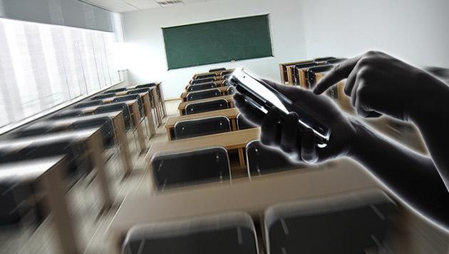 18-Jähriger drohte mit Messerangriff an Schule (Bild: thinkstockphotos.de, krone.at-Grafik)