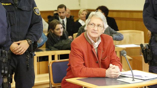 Rapahel Abarth erpresste Monika Bacardi. Er wurde zu 21 Monaten teilbedingter Haft verurteilt. (Bild: Martin A. Jöchl)