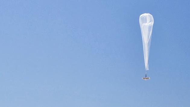 Google-Ballon in Südafrika abgestürzt (Bild: Google)