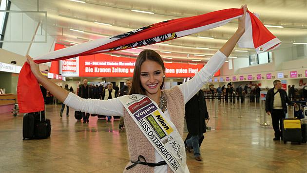 """Wird sie den Titel der """"Miss World"""" holen? (Bild: Kristian Bissuti)"""