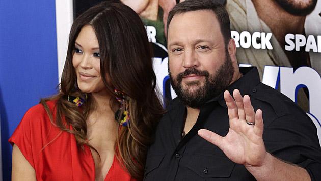 Kevin James und seine Frau werden zum vierten Mal Eltern. (Bild: JASON SZENES/EPA/picturedesk.com)