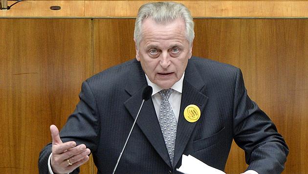 """Für Sozialminister Hundstorfer ist nun """"eine Lücke geschlossen"""". (Bild: APA/HERBERT NEUBAUER)"""