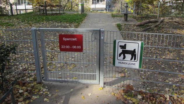 In dieser Hundezone werden nachts Hundekämpfe abgehalten. (Bild: Martin Hobek)