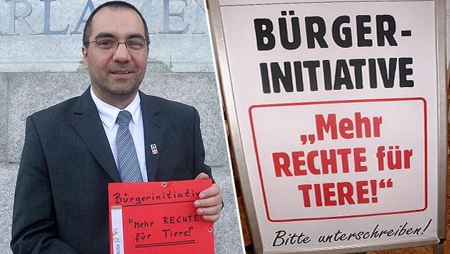 Bürgerinitiative für harte Strafen für Tierquäler (Bild: Günter Pfurtscheller)