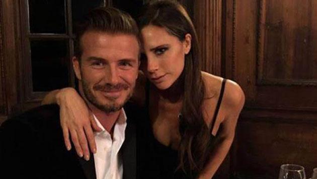 David Beckham verliebte sich in Victoria, als er sie in einem Spice-Girls-Video sah. (Bild: Viennarport)
