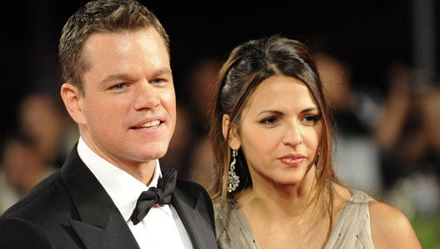Matt Damon verliebte sich in einer Bar in Kellnerin Luciana. (Bild: AFP)