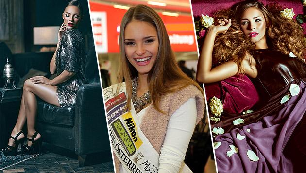 """Die """"Miss Austria"""" Julia Furdea: Top-Mode-Shooting für Callisti. (Bild: KRISTIAN BISSUTI, Judith Bender-Jura)"""