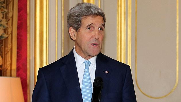 Kerry traf erneut mit Amtskollege Zarif zusammen (Bild: AP)